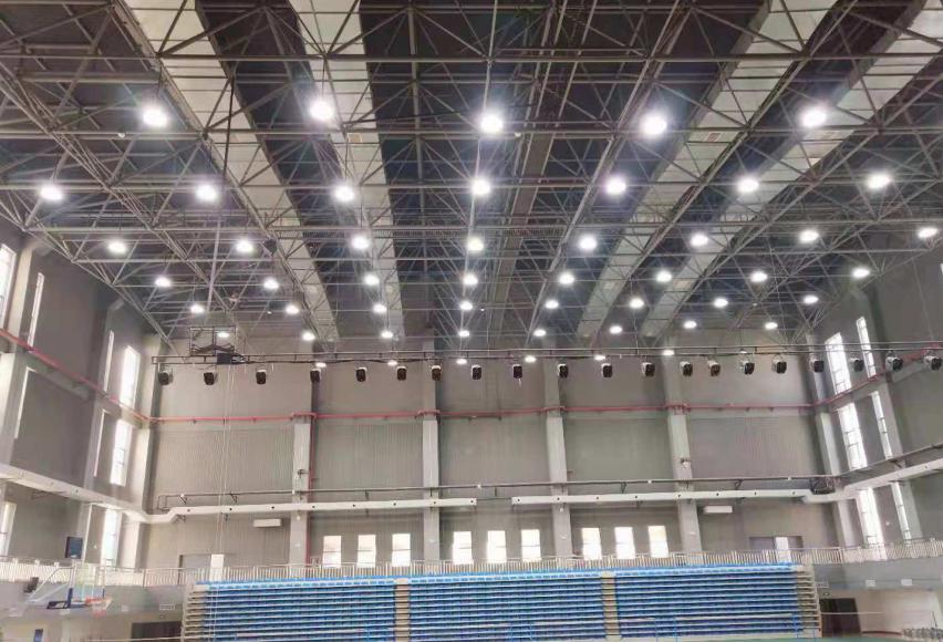 长沙市南雅中学室内灯光节能改造